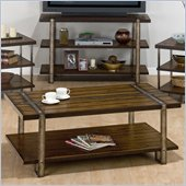 Jofran Malden Rectangle CoffeeTable in Brown