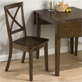 Jofran 342 Series X Back Wood Dining Side Chair (Set of 2)