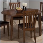 Jofran 487 Series Dining Table in Bowser Birch Finish