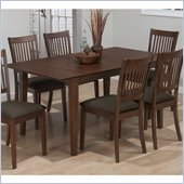 Jofran 493 Series Rectangle Dining Table in Wayland Brown Ash Finish