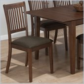 Jofran 493 Series Crawford Fabric Dining Side Chair (Set of 2)