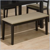 Jofran 596 Series Stone Faux Leather Dining Bench
