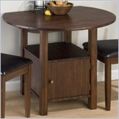 Jofran 743 Series Storage Table in Bedford Acacia Finish