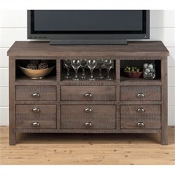 Jofran 50 TV Console in Falmouth Weathered Grey