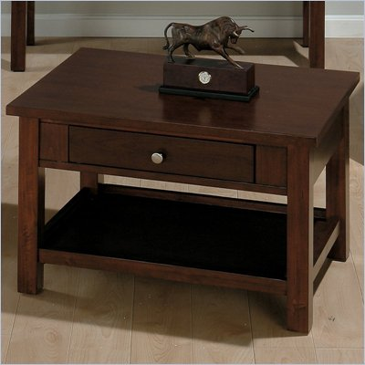 Jofran 251 Series Rectangular Wood Lift-Top Cocktail Table in Milton Cherry