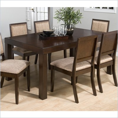 Jofran 326 Series Rectangular Dining Table in Cappuccino Cherry Finish