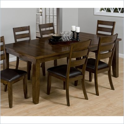Jofran 337 Series Rectangular Dining Table in Taylor Cherry Finish