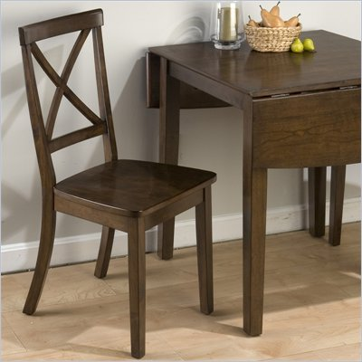 Jofran 342 Series &quot;X&quot; Back Wood Dining Side Chair (Set of 2)