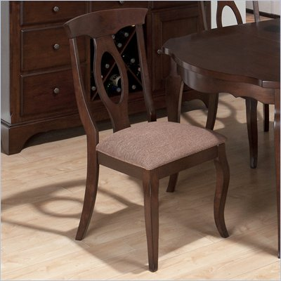 Jofran 369 Series Napoleon Fabric Dining Side Chair (Set of 2)