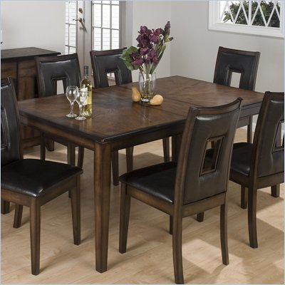 Jofran 431 Series Rectangular Formal Dining Table in Oak