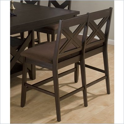 Jofran 453 Series Counter Height Dining Bench in Espresso