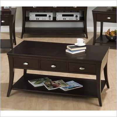 Jofran 629 Series Coffee Table in Manhattan Espresso