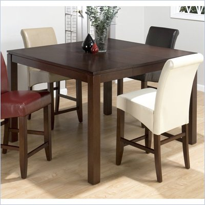 Jofran 888 Series Counter Height Dining Table in Carlsbad Cherry