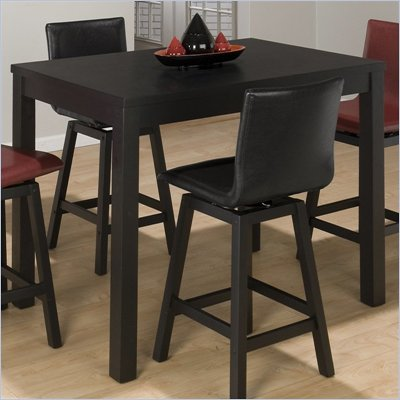 Jofran 960 Series Rectangular Counter Height Dining Table in Black