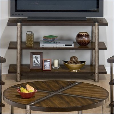 Jofran Malden Sofa Table/TV Stand in Brown