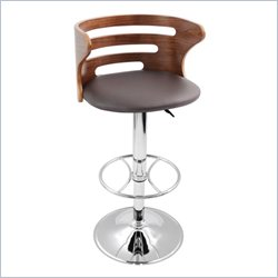Lumisource Cosi Bar Stool in Brown