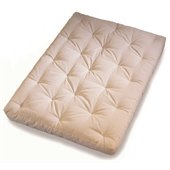 Wolf Serta Cypress Futon Mattress in Natural