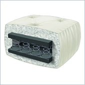 Wolf Serta Cypress Futon Mattress in Chocolate Micro