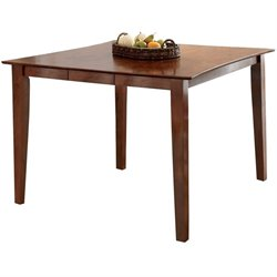 Steve Silver Branson Extendable Counter Height Dining Table in Honey