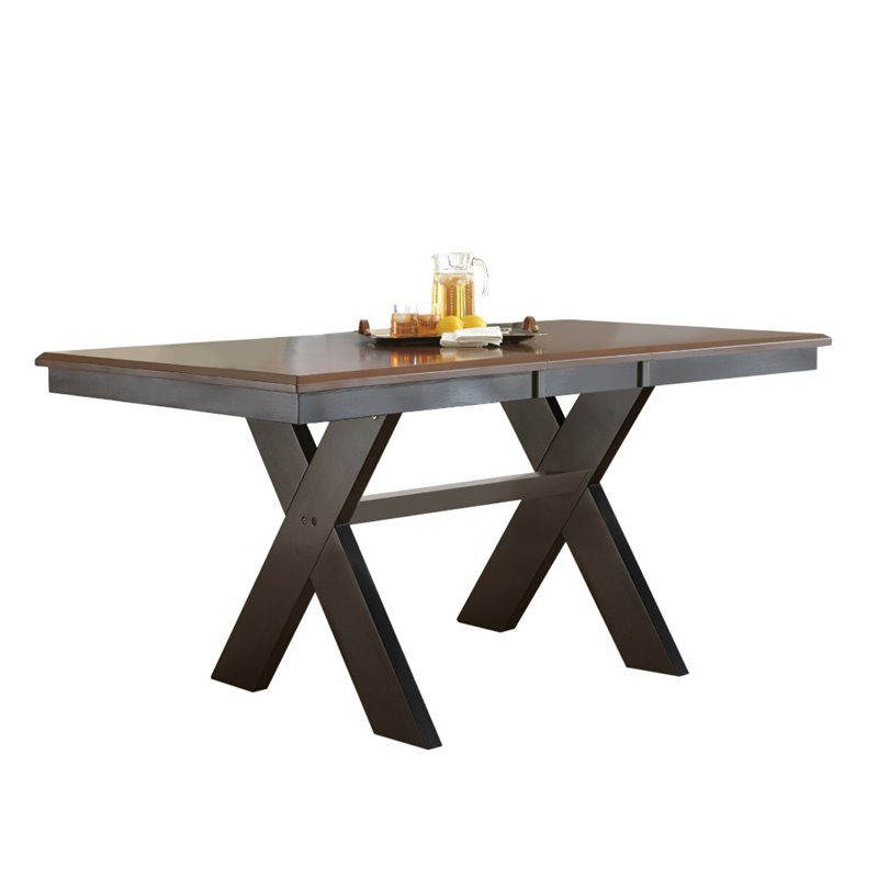 Steve Silver Violante Counter Dining Table in Black