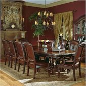 Steve Silver Company Antoniette 9 Piece Dining Set (Free Chair Included)
