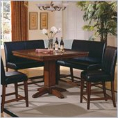 Steve Silver Company Plato 5 Piece Dining Set (Free Chair Included)
