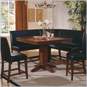Steve Silver Company Plato 6 Piece Dining Set (Free Chair Included)