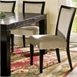 ADD TO YOUR SET: Steve Silver Company Movado Fabric Parsons Dining Chair in Merlot