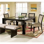 Steve Silver Company Movado 5 Piece Dining Set (Free Chair Included)