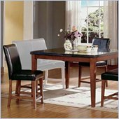 Steve Silver Company Bello 5 Piece Counter Height Dining Set (Free Chair Included)