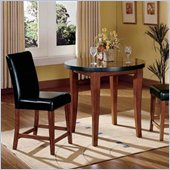 Steve Silver Company Bello 3 Piece Counter Height Dining Set (Free Chair Included)
