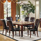 Steve Silver Company Montibello 7 Piece 70 Dining Set (Free Chair Included)