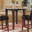 ADD TO YOUR SET: Steve Silver Company Montibello Round Counter Height Table in Rich Cherry Finish