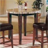 Steve Silver Company Montibello Round Counter Height Table in Rich Cherry Finish