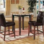 Steve Silver Company Montibello 3 Piece Dining Set (Free Chair Included)
