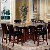 Steve Silver Company Montibello 7 Piece Dining Set (Free Chair Included)