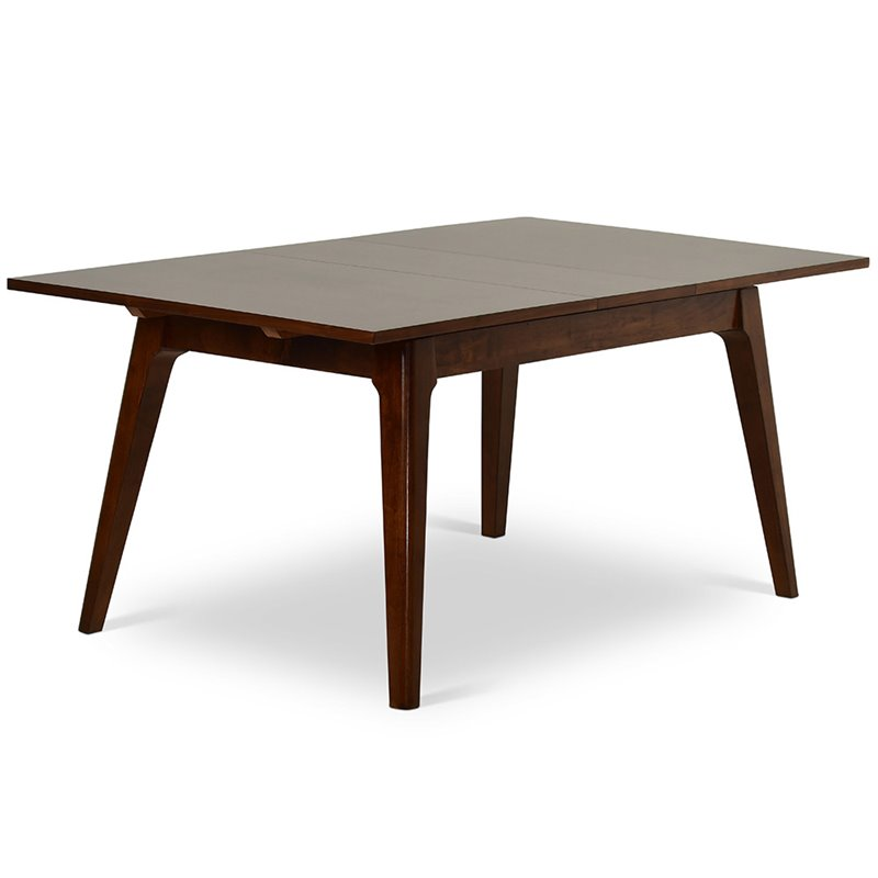 Steve Silver Adeline Extendable Dining Table in Walnut