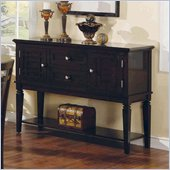 Steve Silver Company Deluca Dark Merlot Sideboard