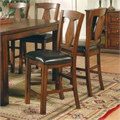 Steve Silver Company Lakewood Rich Oak Counter Side Chair