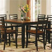 Steve Silver Company Abaco 5 Piece Counter Height Dining Table Set (Free Chair Included)