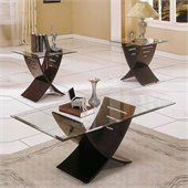Steve Silver Company Cafe 3 Piece Coffee Table Set