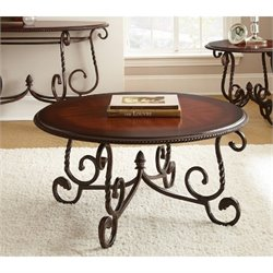Steve Silver Company Crowley Cherry Coffee Table