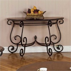 Steve Silver Company Crowley Cherry Sofa Table