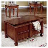 Steve Silver Company Edgewood 3-Pack Coffee Table and 2 End Tables Set