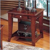Steve Silver Company Hamilton Cherry End Table