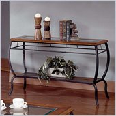 Steve Silver Company Loretta Oak Sofa Table