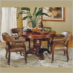 Steve Silver Company Tournament 5 Piece Dining Set in Cherry