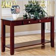 ADD TO YOUR SET: Steve Silver Company Nelson Sofa Table in Cherry or Oak