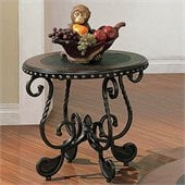 Steve Silver Company Rosemont Cherry Accent End Table