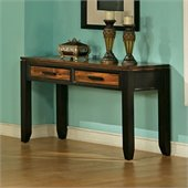 Steve Silver Company Abaco Sofa Table in Espresso